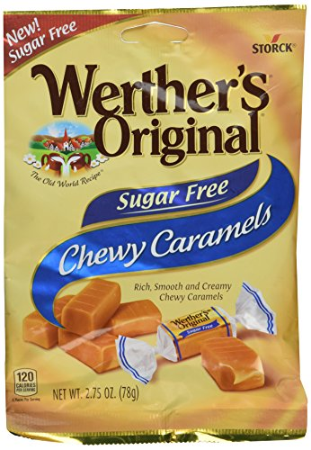 Werther#039s Original Sugar Free Chewy Caramels 275 Oz Pack Of 2