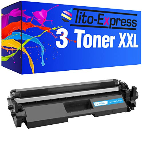 Tito-Express Platinum Serie 3 Cartuchos de tóner XXL compatibles con HP CF294A 94A Laserjet Pro M118DW MFP M148FW M148FDW M148DW M148 FW FDW DW  Black 1.200 páginas