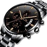 Relojes de Hombre Relojes de Pulsera Military Impermeable Negocios Diseño Lujo de Acero...