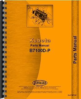 Kubota B7100D-P Tractor Parts Manual