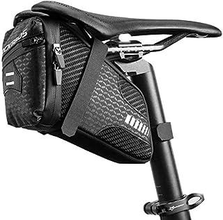 ROCKBROS Bike Saddle Bag Seat Bag Bike Bag Under Seat 1.5L Bicycle Bag Cycling Accessories Storage Pouch Bike Wedge Pack f...