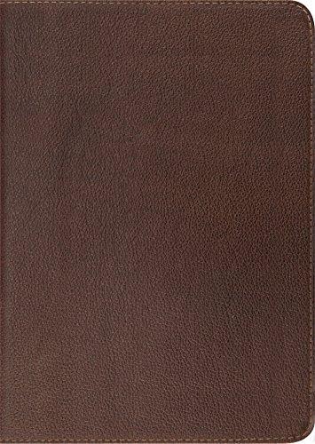 ESV Study Bible (Cowhide, Deep Brown)