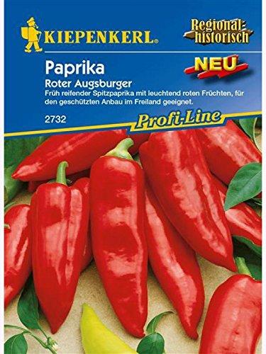 Sperli Gemüsesamen Paprika Roter Augsburger, grün