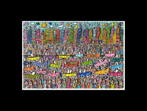 Stick It On Your Wall James Rizzi–Nichts ist so Pretty AS A Rizzi City Mini Poster–40x 40cm