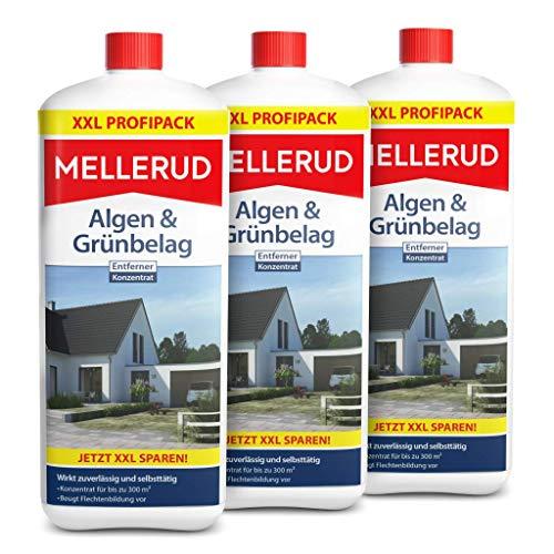 3 x 2 Liter Mellerud 2001001926 Algen- und Grünbelagentferner