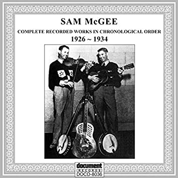 Sam McGee (1926-1934)