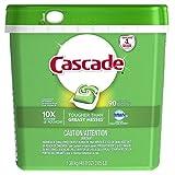 Cascade ActionPacs Dishwasher Detergent, Fresh Scent, 90 count