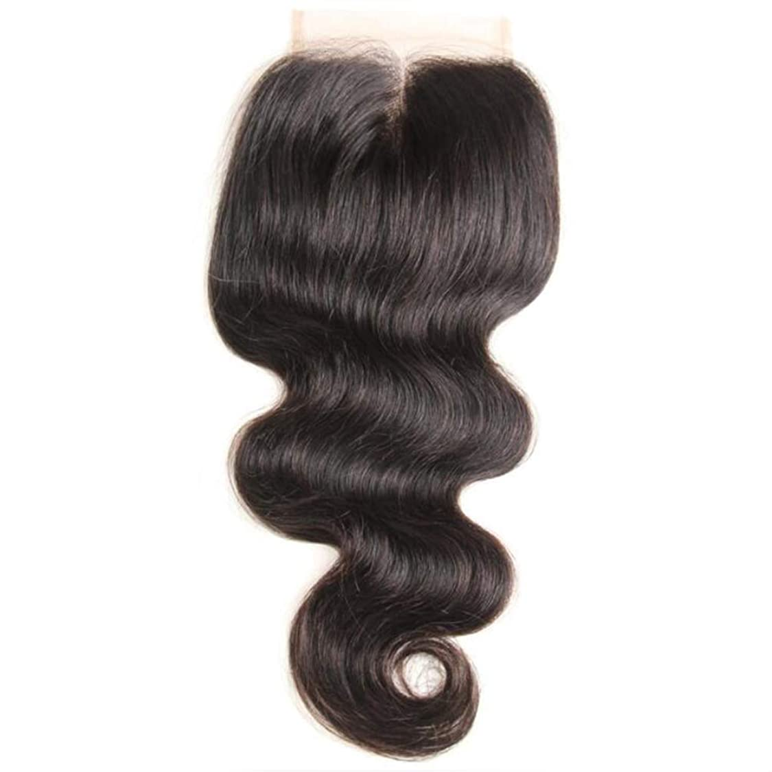 朝背が高い趣味かつら巻き毛の波ブラジルのバージンの毛360の暗喩の使用のための赤ん坊の毛180密度のレースの正面かつら