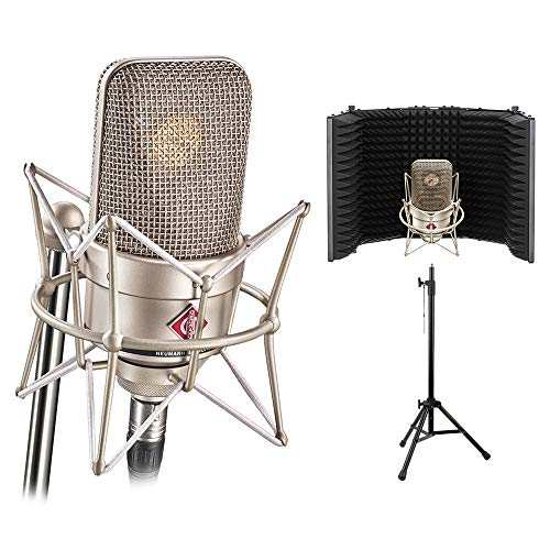 Neumann TLM 49 Cardioid Studio Condenser Microphone Bundle with Reflection Filter & Mic Stand