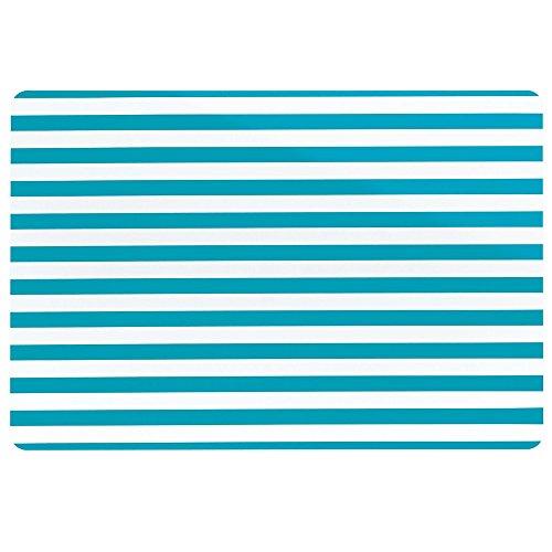 Kela 10894 Cado Set de table PVC Bleu 43,5 x 28,5 x 1 cm
