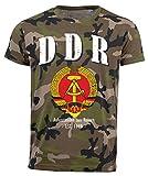 aprom D04 - Camiseta de camuflaje de la RDA, Alemania camuflaje L
