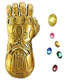 yacn Guante Thanos para niños, Disfraz de guantelete Avenger Infinity...