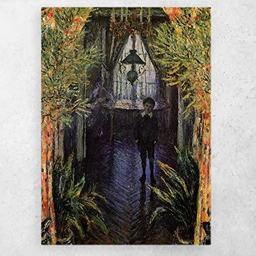 AZTeam Carteles De Retrato Abstracto De Niño E Impresiones De Arte De Pared Cuadros De Pintura En Lienzo para La Decoración del Hogar De La Sala De Estar-50X70Cm Sin Marco