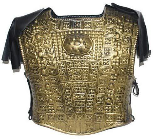 Funny Fashion Römische Rüstung Gold gehämmert Effekt Plastik Soldaten Kreuzweg
