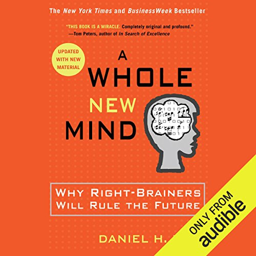 A Whole New Mind audiobook cover art
