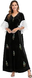 Blossom Dress for Women's Keep warm Jalabiya Fashion
