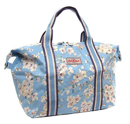 Cath Kidston - Bolsa de la compra plegable, diseño de flores de Wellsley en color azul