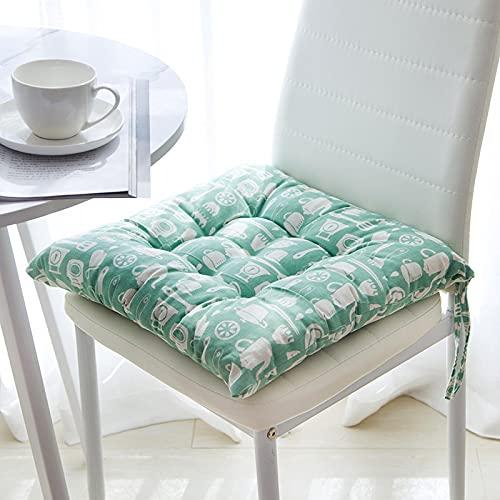 Poduszka pogrubiona bawełniana poduszka biuro dom kwadratowa poduszka na krzesło cztery pory roku uniwersalna wiele kolorów miękka oddychająca ankieta Fangxingcanjv