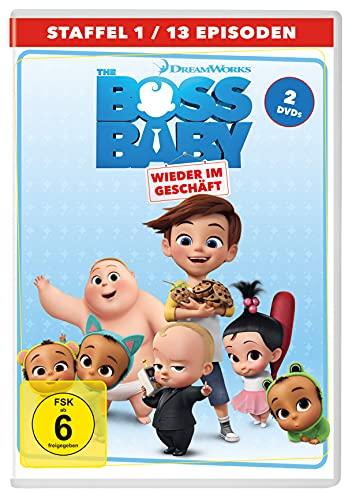 The Boss Baby: Wieder im Geschäft - Staffel 1 [2 DVDs]