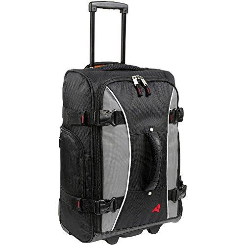 Athalon Luggage 21 Inch Hybrid Travelers Bag (One Size, Gray/Black)