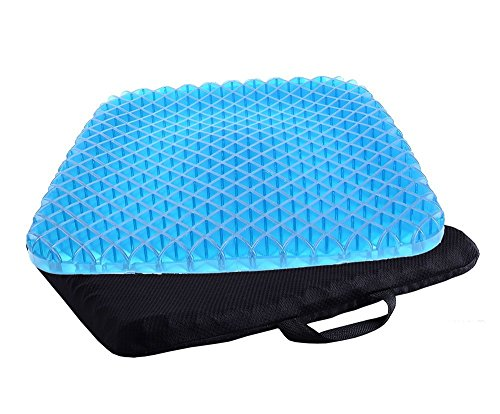 TBSDQLTEV Pain Relief Seat Cushion with Non-Slip Cover, Breathable Absorbs Pressure Points