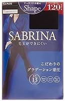 [グンゼ] タイツ サブリナ シェイプ 120デニール SBW16 ブラック 日本 L-LL (日本サイズL-LL相当)