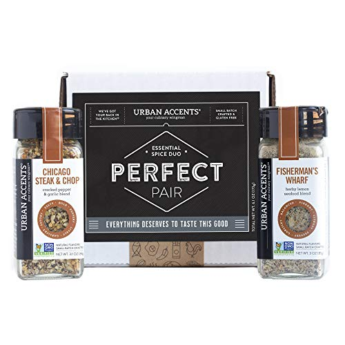 Urban Accents PERFECT PAIR, Essential Gourmet Spices Gift Set (Set of...