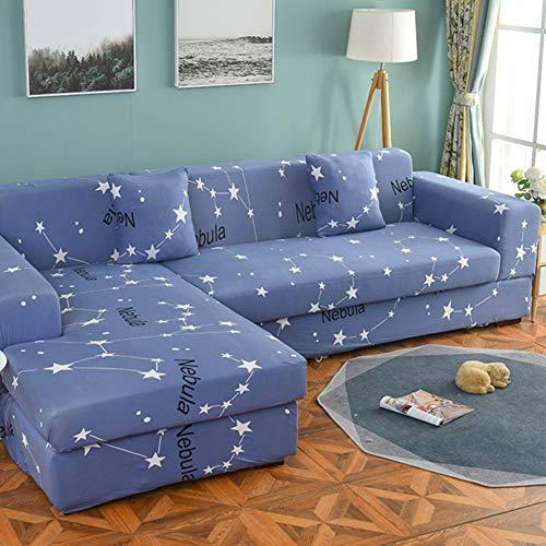 MM-CDZ L-vorm bankovertrek, sofa covers sofa covers snit bankhoezen anti-slip sofa sprei voor honden katten Loveseat per 1 stuks verkocht