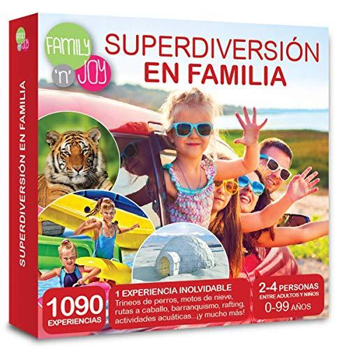 NJOY Experiences - Caja Regalo - SÚPERDIVERSIÓN EN Familia - Más de 1090 experiencias Familiares a Escoger