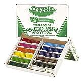 Best Watercolor Pencils - Crayola Watercolor Classpack, School Supplies, 12 Assorted Colors Review