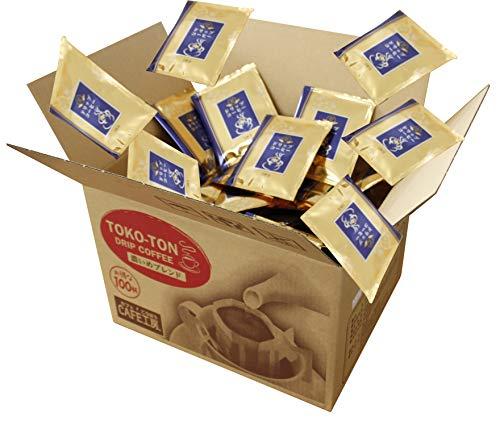 ドリップコーヒー とことんこだわり濃いめブレンド 100袋( TOKO-TON こだわり濃いめブレンド )ドリップバッグ 珈琲