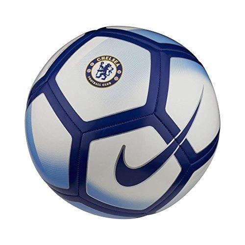 Nike Chelsea Pitch Ball – Weiß/Blau/Rush Blue/Rush Blue/Rush Blue, 5