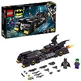 LEGO 76119 DC Batman Batmobile: Verfolgungsjagd mit dem Joker, klassisches Batmobil Automodell, Super Heroes Spielzeuge - LEGO DC Universe Super Heroes
