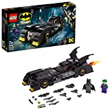 LEGO Super Heroes 76119 - Batmobile, Inseguimento di Joker con Due Minifigure Batman e Joker, Idea Regalo per Bambini +7 Anni