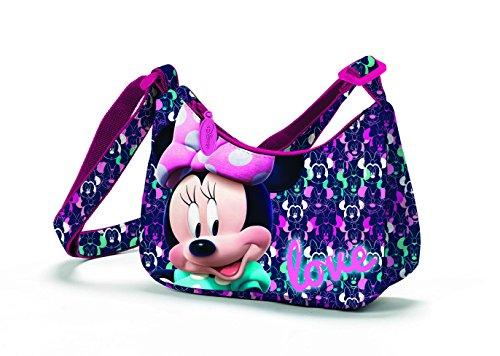 Minnie Disney D96025 Mc Borsa Sportiva per Bambini, 18 cm, Multicolore