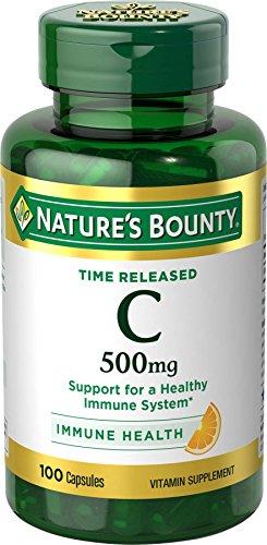 Vitamin C by Nature's Bounty, Immune Support, Vitamin C 500mg, 100 Capsules