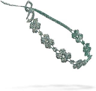 Cruciani FOUR-LEAF CLOVER Lace Bracelet Designer wrist band 100% Guaranteed Genuine