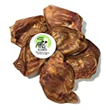 Sancho & Lola's All-Natural Whole Pig Ears for Dogs - Maple-Smoked Thick-Cut, Human-Grade, Grain-Free, Collagen-Rich, Ultra-Premium Dog Chews, Made in USA
