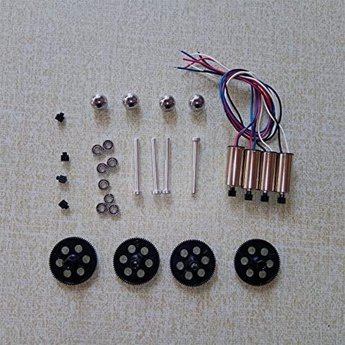Fingerorthese.LQ Nuovo per RC Drone Parts VISUO XS809W XS809HW XS809 XS816 RC Quadcopter Pezzi di Ricambio Mandrino Cuscinetto Motoriduttore Motore Quadricotteri Accessori (Colore : C) (Colore : C)