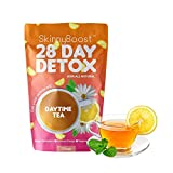 Skinny Boost 28 Day Detox Daytime Tea -Increase Your Metabolism, suppress The Appetite and Lose Weight Naturally! (28 Tea Bags) Get Your Skinny on with Skinny Boost teas!