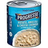 Progresso Soup Traditional, Potato Broccoli & Cheese Chowder, 18.5 oz