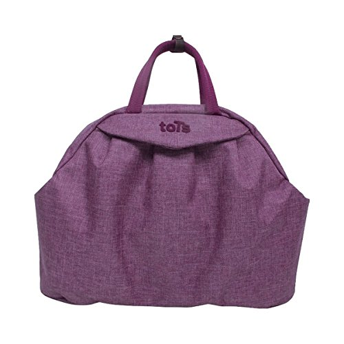ToTs by Smartrike Wickeltasche Chic, Bag in Bag, viele Accessoires, 45x14x32 cm, lila