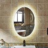 XCTLZG Espejo de baño con Luces LED Espejo de Montaje en Pared...