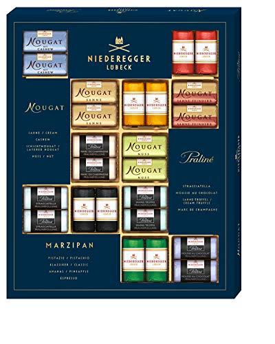 Niederegger Meisterselektion, eine Selektion aus den feinsten Marzipan, Nougat und Trüffel Kreationen, 1er Pack (1 x 500g)