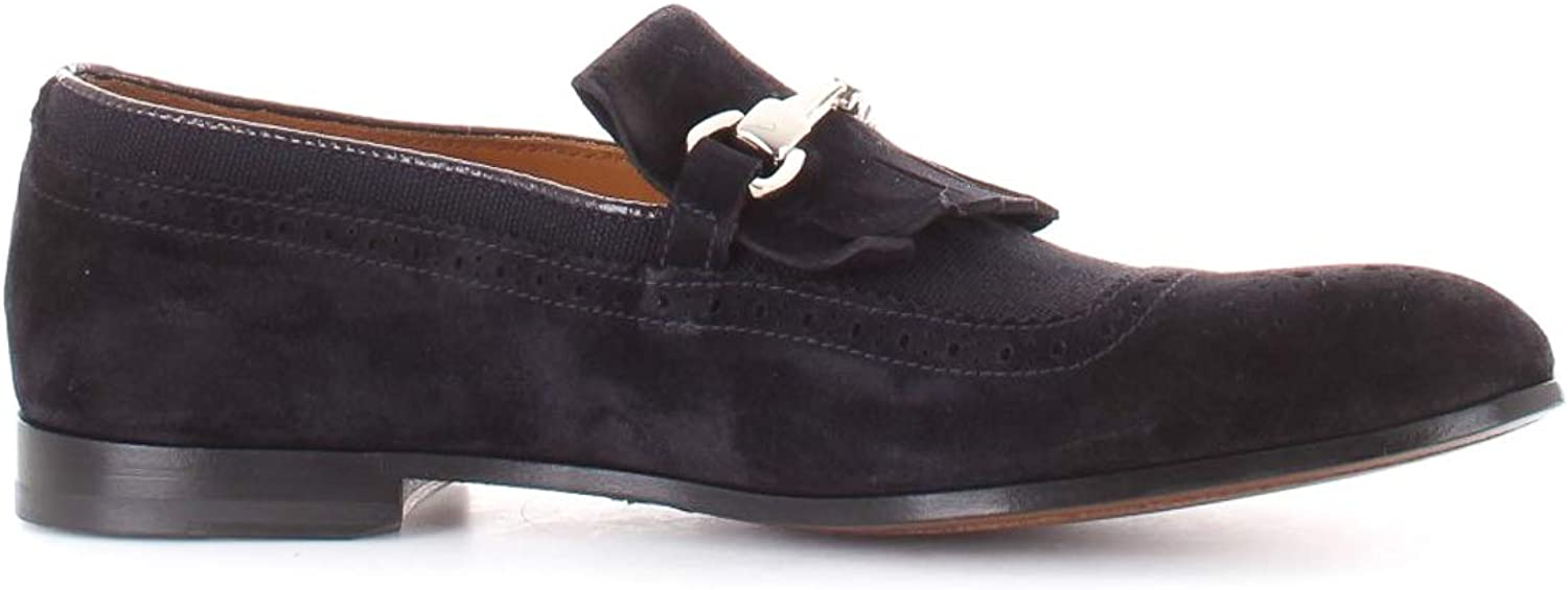 DOUCAL'S Men Mocassini Scamosciati con Frangia e Morsetto Loafers & Slippers