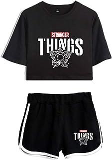 Silver Basic Imprimiendo Camisetas y Shorts Ropa Deportiva d