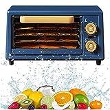 Deshidratadora De Frutas Y Verduras, Deshidratador De Alimentos, 5 Bandejas De Acero Inoxidable, 12h Temporizador, 38~78℃...