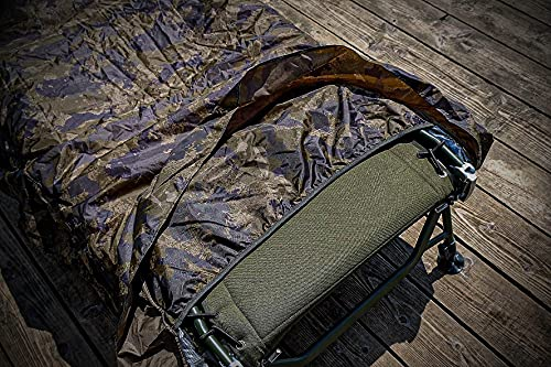 Solar Tackle Unisex's Undercover CAMO Thermal Bedchair Cover, Camouflage, One Size