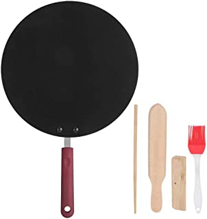 Bärbar aluminiumlegering crepe maker non-stick stekpanna pannkaka grillpanna mini matlagningsverktyg gör crepes pannkakor ...