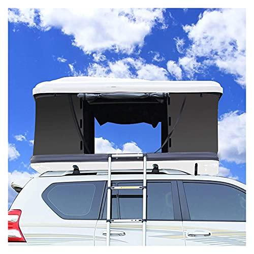 CCAN Tenda da Tetto per Auto a Guida autonoma da Esterno, Tenda Laterale Completamente Automatica per Auto SUV, Guscio Rigido Impermeabile e Resistente all'Usura Happy Life